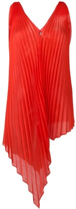 Poiret Asymmetric Pleated Top