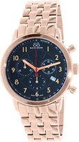 88 Rue du Rhone Men's 87WA120049 Double 8 Analog Display Swiss Quartz Rose Gold Watch