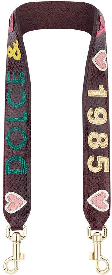 Dolce & Gabbana 1985 Applique Bag Strap