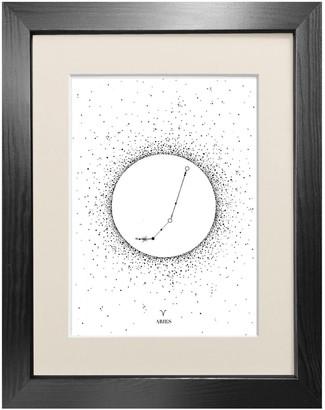 Emily Carter 'Aries Star Sign' - Fine Art Print A3