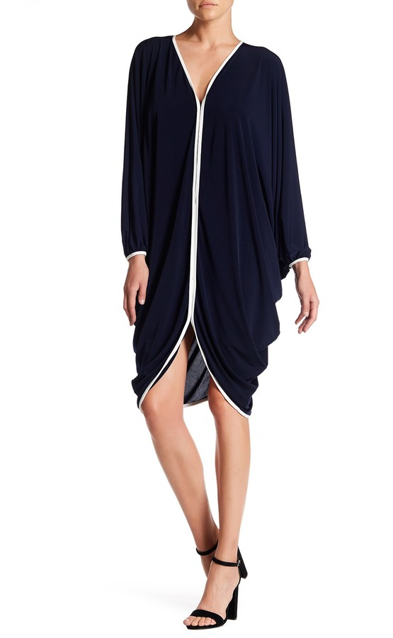 Julian Chang Atta Dolman Jersey Dress