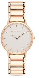 Rebecca Minkoff Major Textured Dial Watch, 35mm