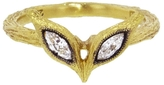 Cathy Waterman Open Marquise Diamond Ring - Yellow Gold