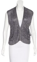 Alexander Wang Metallic Knit Vest