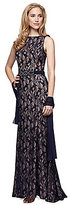 Alex Evenings Beaded Lace Gown