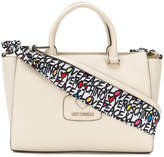Love Moschino quilted large tote bag