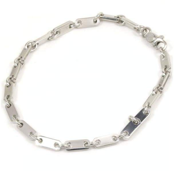 Cartier 18K White Gold Chain Bracelet