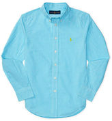 Ralph Lauren 8-20 Cotton Poplin Shirt
