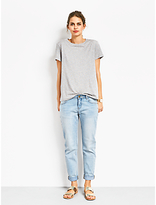 Hush Mini Multi Stars T-Shirt, Grey Marl/Gold