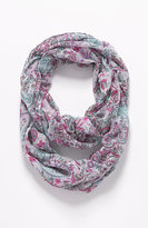 J. Jill Paisley Blossoms Infinity Scarf
