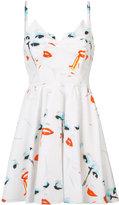 Jeremy Scott fantasy print mini dress - women - Cotton - 40