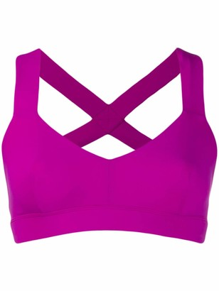 NO KA 'OI Crisscross Strap Sports Bra