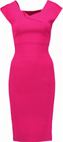 Roland Mouret Rythe cutout stretch-knit dress
