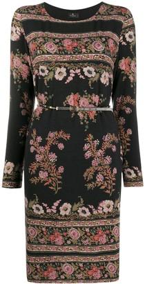 Etro Floral Knit Dress