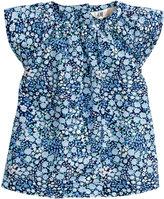 H&M Patterned Cotton Blouse - Blue - Kids