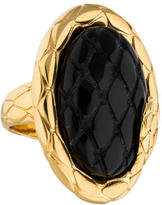 Just Cavalli Oval Onyx Cocktail Ring