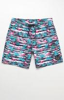 "Maui & Sons Flamingo Volley 18"" Boardshorts"
