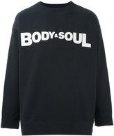 Kenzo 'Body & Soul' sweater - men - Cotton - XL