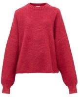 JoosTricot Mohair-blend Sweater - Womens - Pink