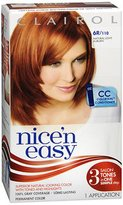 Clairol Nice 'N Easy Permanent Color, Natural Light Auburn 110
