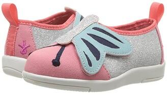 Emu Butterfly Sneaker (Toddler/Little Kid/Big Kid) (Pink Watermelon) Girl's Shoes
