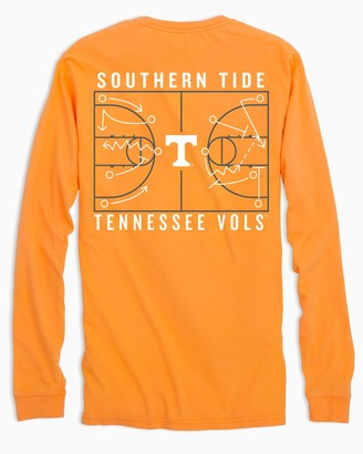 Southern Tide Tennessee Vols Long Sleeve Basketball T-Shirt