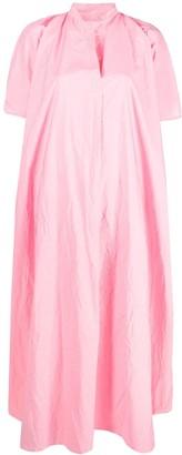 Daniela Gregis Crumpled-Effect Midi Dress