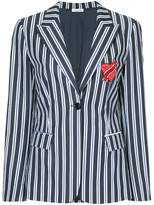 P.A.R.O.S.H. Love Me striped blazer