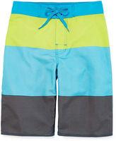 Arizona Colorblock Stripe Swim Trunks - Boys 8-20