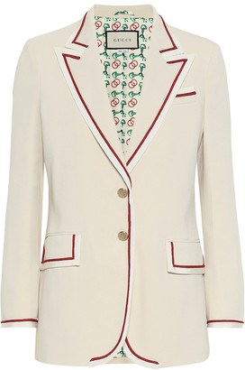 Gucci Stretch-cady blazer