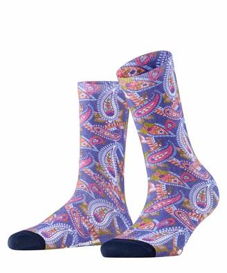 Burlington Women's Paisley Print Socks