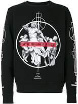 Marcelo Burlon County of Milan Fainu crewneck sweatshirt