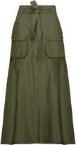 Marissa Webb Ilsa pleated poplin maxi skirt