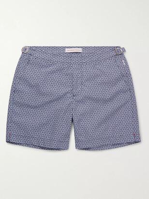 Orlebar Brown Bulldog Printed Shell Swim Shorts