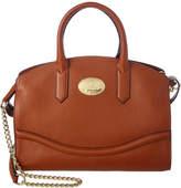 Roberto Cavalli Leather Top Handle Satchel
