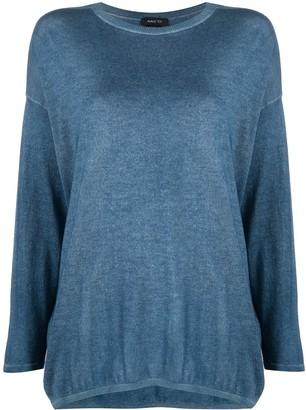 Avant Toi Drop-Shoulder Knitted Jumper
