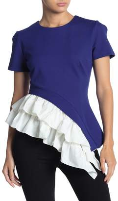 Gracia Unbalanced Bottom Layered Shirt