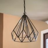 Milford 1 - Light Single Geometric Pendant Wrought Studio