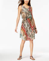 Style&Co. Style & Co Sleeveless Printed Dress, Created for Macy's