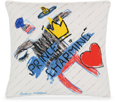 Vivienne Westwood Prince Charming Cushion In Cream