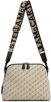 Stella McCartney Beige Canvas Monogram Shoulder Bag