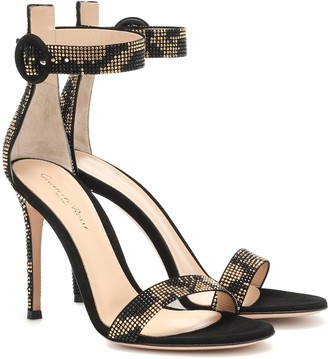 Gianvito Rossi Ronnie embellished sandals