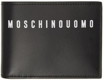 Moschino Black Fantasy Print Wallet