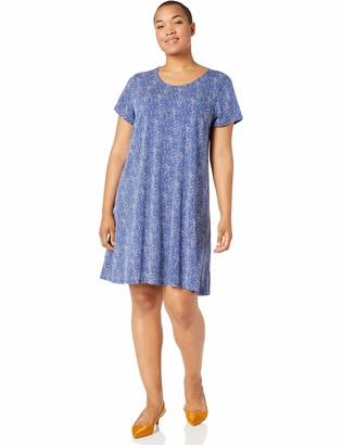 Karen Kane Women's Plus Size Print Maggie Trapeze Dress 1X
