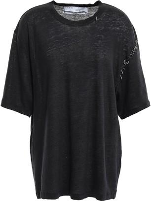 IRO Embellished Linen T-shirt