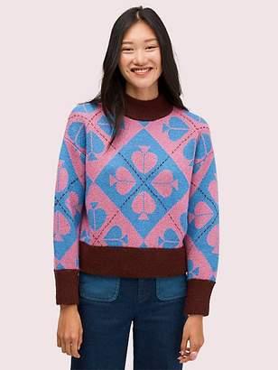 Kate Spade Spade Geo Sweater