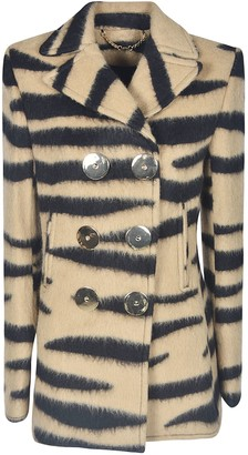 Paco Rabanne Double-breasted Short Coat