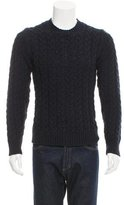 Dolce & Gabbana Wool Cable Knit Sweater