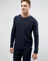 Jack and Jones Sweater With Raw Hem Detail