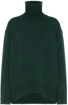 Plan C Wool-blend turtleneck sweater
